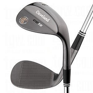 Cleveland CG15 Black Pearl Trac Tour Zip Wedge (Right Hand, Steel, 56 degrees)