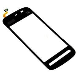 KolorEdge Nokia 5233 Original Touch Digitizer Replacement - Black