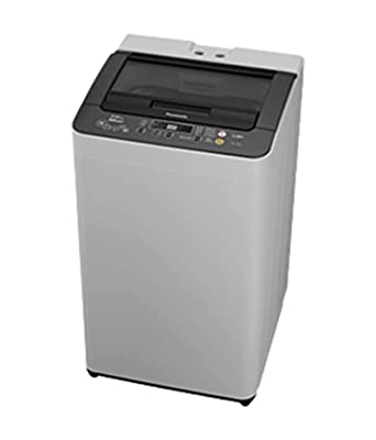 Panasonic NA-F65B5HRB Fully-automatic Top-loading Washing Machine (6.5 Kg, Grey)