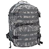 Heavy-Duty Water Resistant Digital Camo Army Backpack Multiple Zippered Pockets