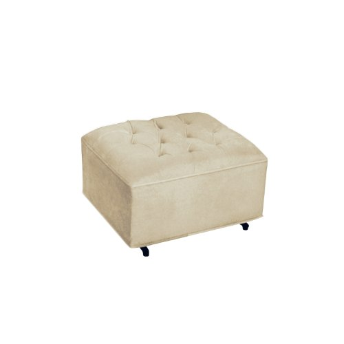 Newco International Grand Ottoman, Bella Velvet Beige - 1