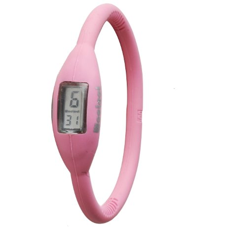 WooLoot Wave Ion Sport Watch Small (17cm) Pink