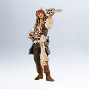 On Stranger Tides - Pirates of the Caribbean 2012 Hallmark Ornament