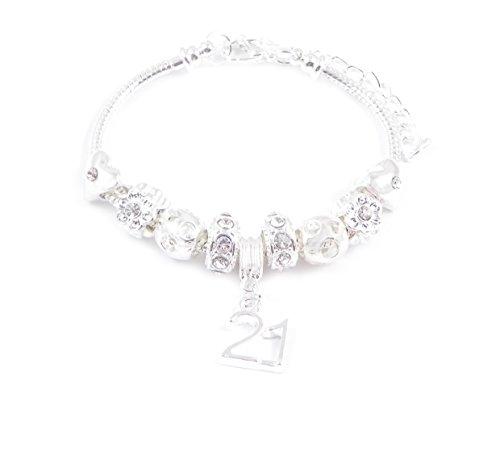 21st Birthday Charm Bracelet Women's Pandora