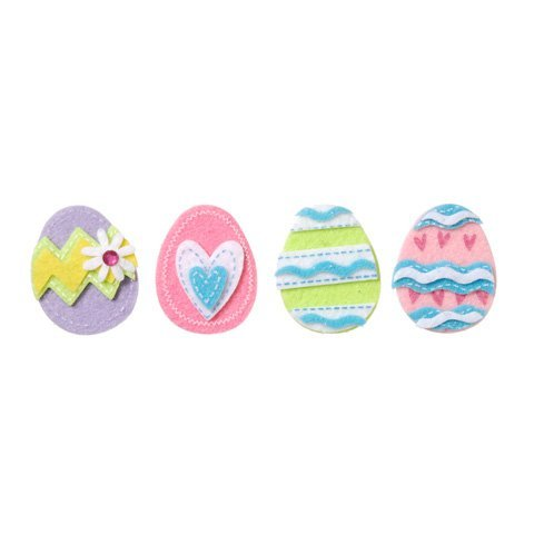Easter Egg Feltie Stickers (24pc)