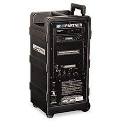 -- Portable Wireless Digital Travel Partner Public Address System, Black