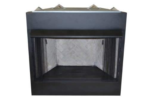 Review Sure Heat VFBC36A Surefire Steel Constructed Vent-Free Firebox with Heat Deflecting Mantel Gu...