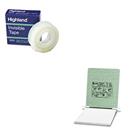 KITACC54115MMM6200341296 - Value Kit - Acco Pressboard Hanging Data Binder (ACC54115) and Highland Invisible Permanent Mending Tape (MMM6200341296)