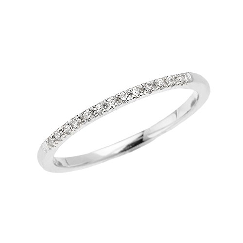 10k-White-Gold-Dainty-Diamond-Stackable-Ring