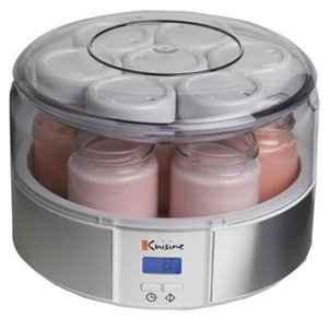 Sale euro cuisine automatic yogurt maker reviews xsd24f for Automatic yogurt maker by euro cuisine