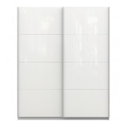Chelsea 2 Door Sliding Wardrobe - White High Gloss