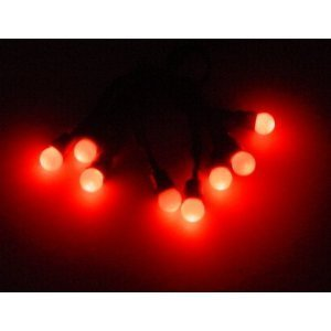 Christmas Concepts Ltd 24 Sets Of 8 Battery Operated Red Led Berry Lights Wholesale/Wedding (L132)