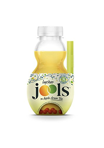 Jools Sill Apple Juice And Green Tea Drink With Lychee Juice Beeds 300Ml (Pack Of 6)