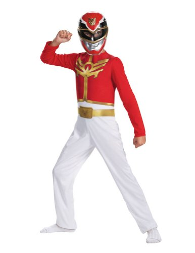 Red Ranger Megaforce Child Costume 4-6 Kids Boys Costume - Disguise