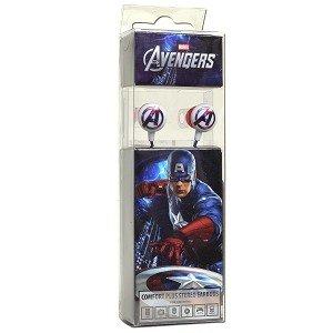 Marvel The Avengers Premium Earbuds - Captain America