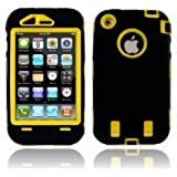 Generic Carrying Case for iPhone 3G/3GS - Non-Retail Packaging - Black/Yellow