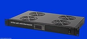 Rising Rack Mount Digital Server Fan Cooling System With 4 Fans 1U