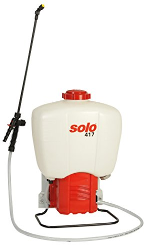 Solo 417 Battery Powered Backpack Sprayer, 6.6-Gallon