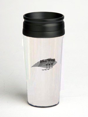 16 oz. Double Wall Insulated Tumbler with hollywood - Paper Insert