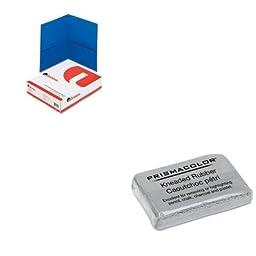 KITSAN70531UNV56601 - Value Kit - Prismacolor DESIGN Kneaded Rubber Art Eraser (SAN70531) and Universal Two-Pocket Portfolio (UNV56601)