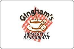 Gingham's Homestyle Restaurant Gift Card ($20)