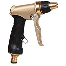 Copper Adjustable High Pressure Garden Watering Sprayer Multifunction Car Washing Spray Nozzle Tool