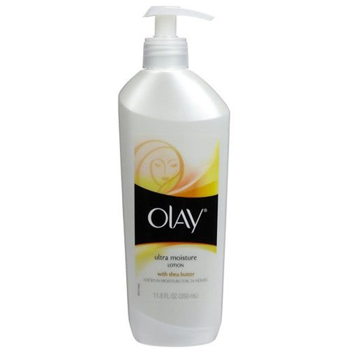Olay Lotion, Ultra Moisture, with Shea Butter, 11.8 oz. (6 Pack) olay white radiance advance fairness protective lotion spf 24 pa 75 ml