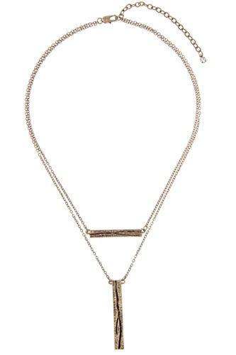 glitz-finery-double-sided-flat-finish-detailed-pendant-necklace-burnished-gold
