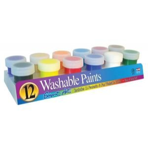6 Pack PREMIER WASHABLE PAINT SET/12 Drafting, Engineering, Art (General Catalog)