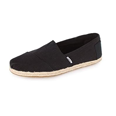 toms herren espadrilles schwarz schwarz gr e 43 schuhe handtaschen. Black Bedroom Furniture Sets. Home Design Ideas