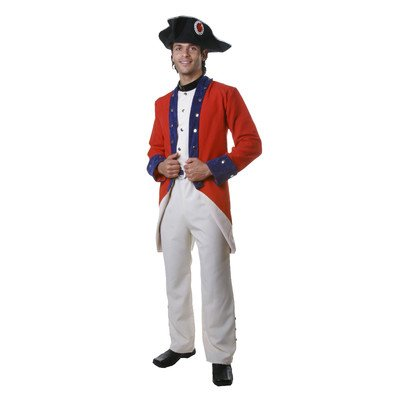 Dress Up America Adult Colonial Soldier