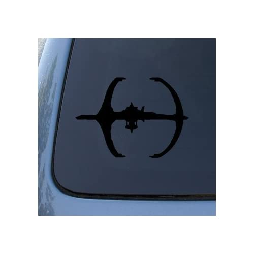 DEEP SPACE 9 STATION   Star Trek   Vinyl Decal Sticker #A1392  Vinyl Color Black