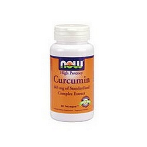 NOW Foods Curcumin Extract 95% 665 mg, 60 Caps