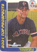Paxton Crawford Pawtucket Red Sox - Red Sox Affiliate 2001 Choice Top Prospects... by Hall of Fame Memorabilia
