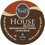 TULLYS HOUSE BLEND 96 K CUPS