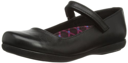 Hush Puppies Girls Blousey Mary Jane Flats H33779000 Black 1 UK Child, 33 EU