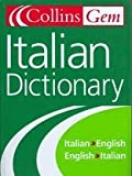 Collins Gem Italian Dictionary, 5e (0004724119) by HarperCollins