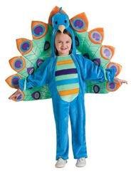 Little Girls' Peacock Toddler Costume Toddler front-509462