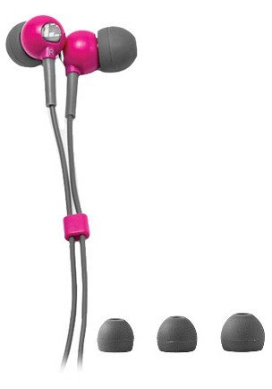 X-1 (Powered By H2O Audio) Cb1-Pk-X Flex All Sport Waterproof In-Ear Headphones (Power Pink)