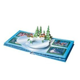 Goffengel Christmas Pop Up Photo Album Book
