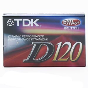 Read About TDK D120 Dynamic Audio Cassette Tapes - 10 Pack