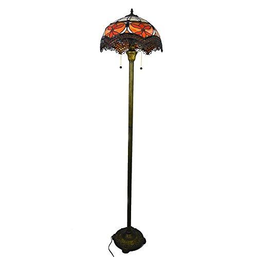 lampadaire-elegant-avec-abat-jour-vitrail-et-sculpte-base-metallique-nuomeiju-nmj058