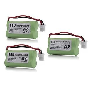 3 Pack of American Telecom E30025CL Battery - Replacement for American Telecom Cordless Phone Battery - Olympia Battery