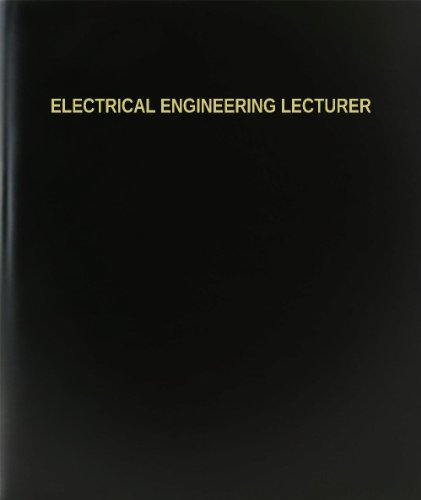 "Bookfactory® Electrical Engineering Lecturer Log Book / Journal / Logbook - 120 Page, 8.5""X11"", Black Hardbound (Xlog-120-7Cs-A-L-Black(Electrical Engineering Lecturer Log Book))"