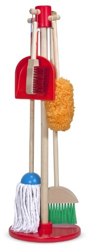 Melissa & Doug Let's Play House! Dust, Sweep and Mop