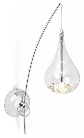 Brilliant G14710/15 - Lampada da parete cromata