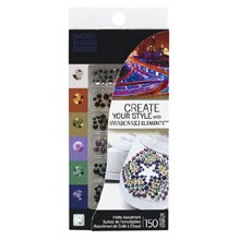 Swarovski HotFix Crystals 150 Piece Combo Pack, Energy Assortment by Create Your Style