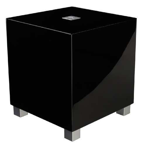 "Rel - T-5 - 8"" Powered Subwoofer Gloss Black"