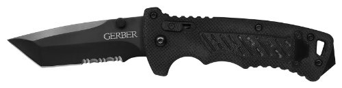 Gerber DMF Folding Knife, Serrated Edge, Tanto [31-000583]