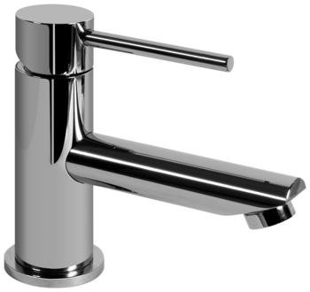 M.E. 25 Single Handle Single Hole Bathroom Faucet Finish: Polished Nickel